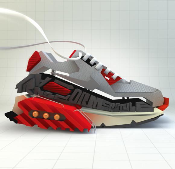 Nike transformer style