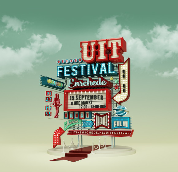 Uitfestival campaign